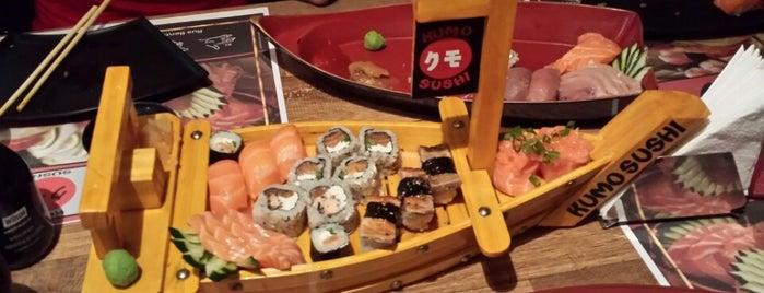 Kumo Sushi is one of Ricardo'nun Kaydettiği Mekanlar.