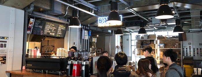 Brooklyn Roasting Company is one of Osaka.