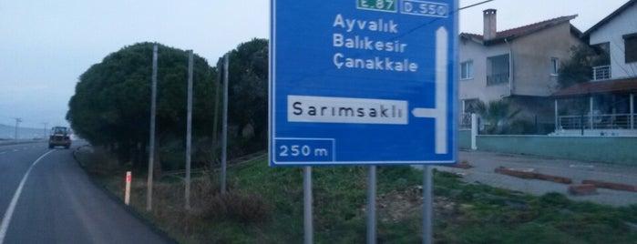 Sarımsaklı Girişi is one of Lugares favoritos de Samet.