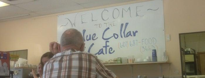 The Blue Collar Cafe is one of Locais curtidos por Edward.