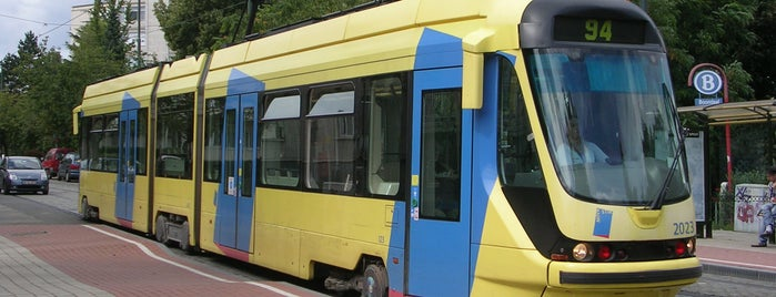 Boondaal Station / Boondael Gare (MIVB / STIB) is one of Belgium / Brussels / Tram / Line 8.