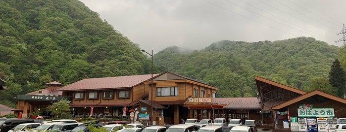 道の駅 ふぉレスト君田 is one of สถานที่ที่ ZN ถูกใจ.