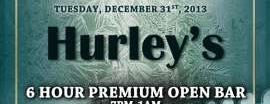 Hurley's Saloon is one of New Years Eve 2014 Parties.
