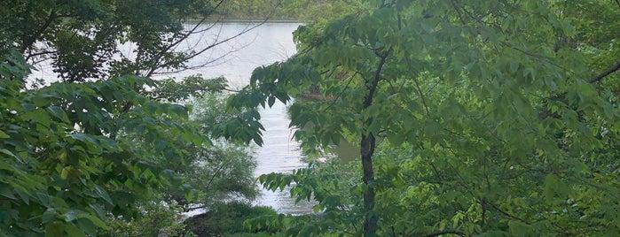 Hayden Falls / Griggs Nature Preserve is one of CBus.