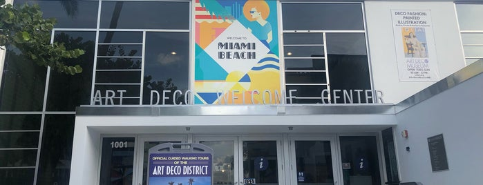 Art Deco Museum is one of Miami Trip.