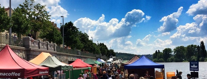Farmářské trhy Náplavka is one of Praha - Prague - Praga.