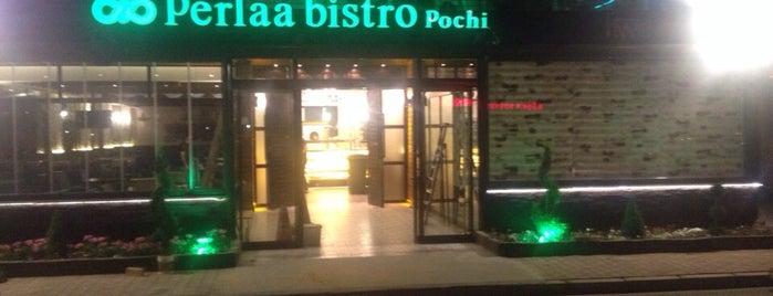 Perlaa Bistro Pochi is one of สถานที่ที่ Banu ถูกใจ.