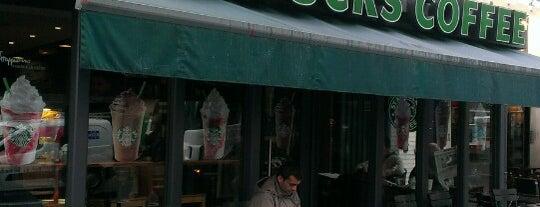 Starbucks is one of Tempat yang Disimpan Dilara.