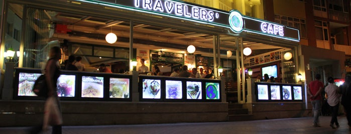 Travelers' Cafe is one of Tempat yang Disukai Gizem.