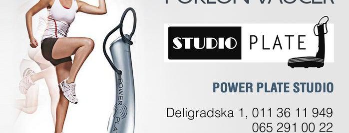 Studio Plate / power plate Slavija is one of Lieux sauvegardés par Marina.