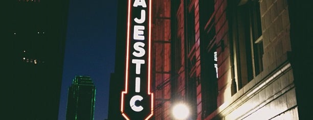 Majestic Theatre is one of Dallas.