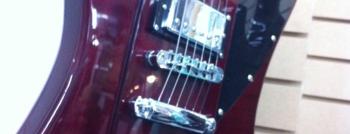 GuitarStore México is one of Tempat yang Disimpan Gabriel.