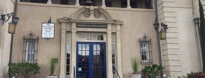 Riverside Art Museum (RAM) is one of Bank of America Free Museum Weekend.