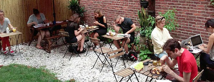 Fair Weather Bushwick is one of The New Yorkers: Patio Seating.