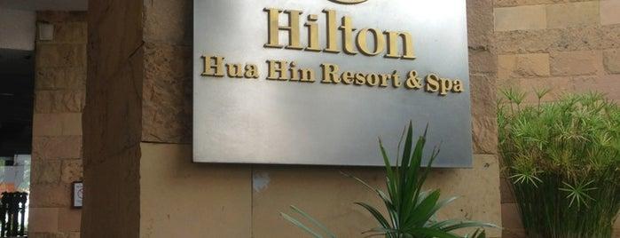 Hilton Hua Hin Resort & Spa is one of On the Hua Hin.