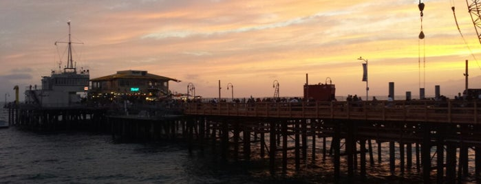 Santa Monica Pier is one of Going Back To Cali...Again.