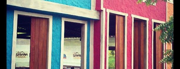 Tapiocaria Cabana De Taipa is one of Locais curtidos por Leonardo Arcoverde.