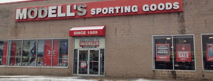 Modell's Sporting Goods is one of NY.