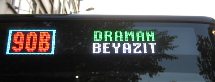 90B Draman - Beyazıt is one of safia 님이 저장한 장소.