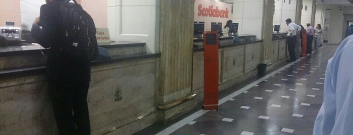 Banco Scotiabank is one of Santiago City.