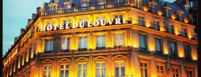 Hôtel du Louvre is one of Hotels.