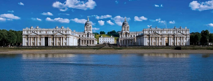 Old Royal Naval College is one of Europe 2014.