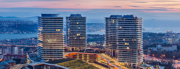 Zorlu Center is one of Istanbul 2015.