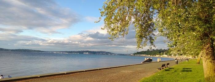 Alki Beach Park is one of Seattle.