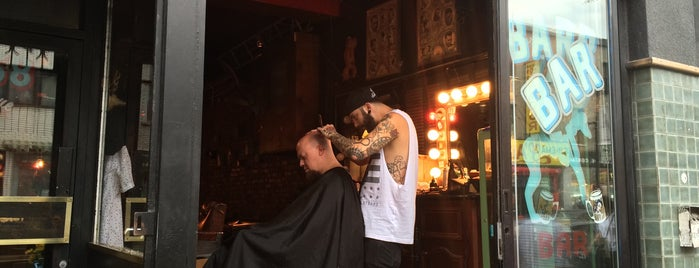 Blue Dog Barber Shop is one of Montreal.