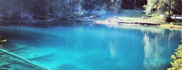 Blausee is one of Orte, die Pelin gefallen.