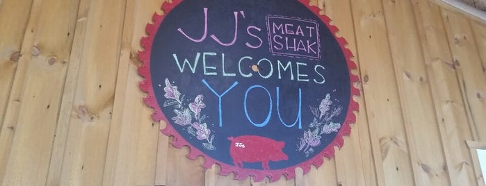 JJ's Meat Shak is one of Locais curtidos por Lori.