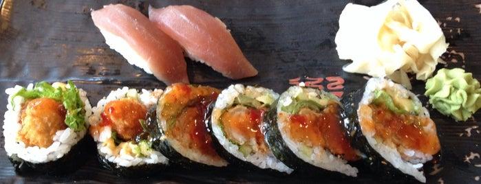 YA! Sushi is one of Orte, die Karsten gefallen.