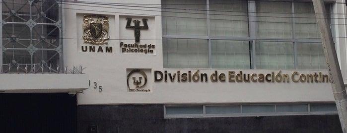 Facultad de Psicología División de Educación Continua UNAM is one of Trabajo.
