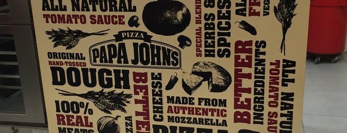 Papa John's is one of Orte, die Rodrigo gefallen.