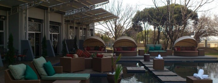Protea Hotel OR Tambo is one of Kat's Liked Places.
