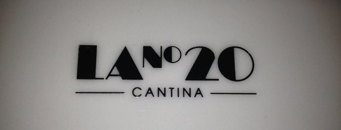 Cantina La No. 20 is one of MEX DF.
