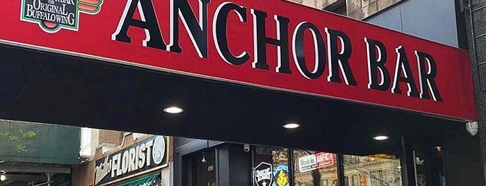 Anchor Bar is one of Posti che sono piaciuti a Brian.