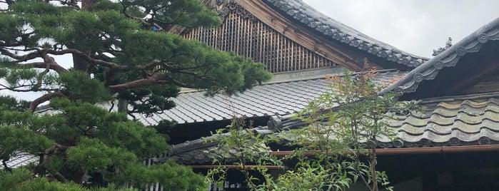 妙心寺 春光院 is one of สถานที่ที่บันทึกไว้ของ Orietta.