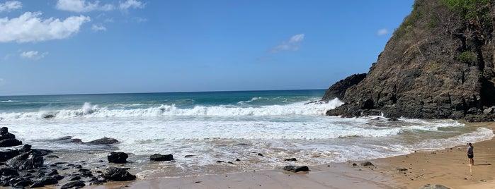 Praia do Cachorro is one of Noronha.