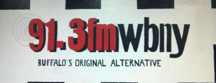 WBNY 91.3 FM is one of Chris : понравившиеся места.