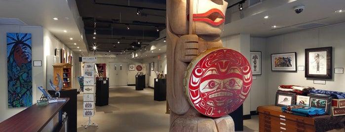 Urban Aboriginal Fair Trade Gallery is one of Vancouver City Guide 2014.