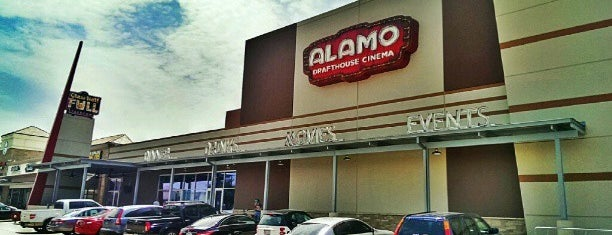 Alamo Drafthouse Cinema is one of Dallas, Texas.