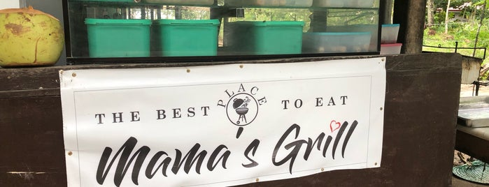 Mama's Grill is one of Spoiler babe. ❤️️.