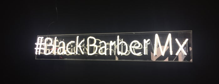 Black Barber Mx is one of Beno'nun Beğendiği Mekanlar.