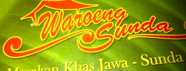 Waroeng Sunda ( masakan Khas Jawa-Sunda) is one of FAVORITE FOOD.