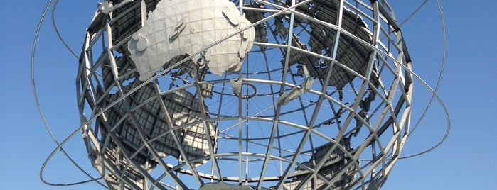 The Unisphere is one of #NYC2017.