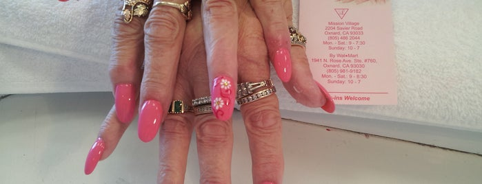 Le's Nails is one of Locais curtidos por Isabella.