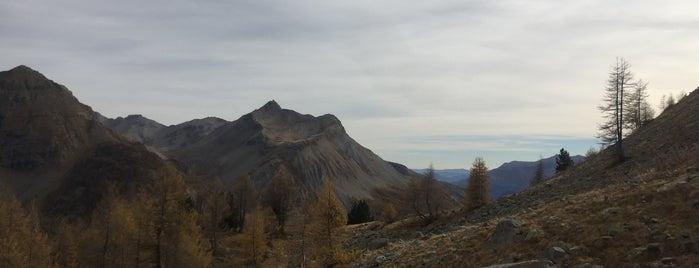 Col de la Cayolle is one of Tempat yang Disimpan Urs.