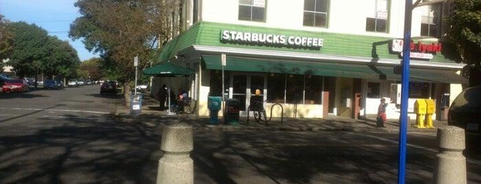 Starbucks is one of Portland.