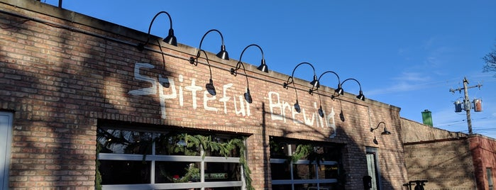 Spiteful Brewing is one of Chicago Breweries.